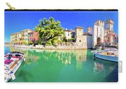 Town Of Sirmione Entrance Walls View Carry-all Pouch