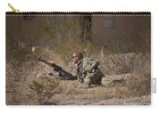 U.s. Soldier Conducts A Combat Training Carry-all Pouch