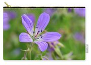 Wood Cranesbill Carry-all Pouch