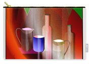 643  Still Life  With Bottles And  Cups  V  Carry-all Pouch