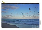 65- Black Skimmers Carry-all Pouch