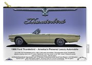 '66 Thunderbird Convertible Carry-all Pouch