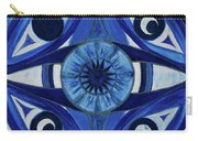 6th Mandala - Third Eye Chakra  Carry-all Pouch