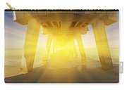 6x1 Under Venice Florida Fishing Pier Carry-all Pouch