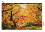 7 Abstract Japanese Maple Tree Carry-all Pouch