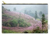 Blossoming Peach Flowers In Spring Carry-all Pouch