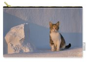 Cat On A Greek Island Carry-all Pouch