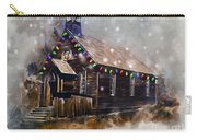 Church At Christmas Carry-all Pouch