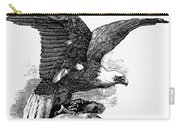 Eagle, 19th Century Carry-all Pouch