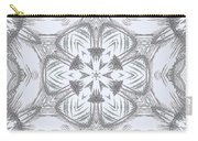 Fern Frost Mandala Carry-all Pouch