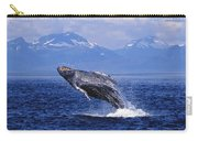 Humpback Whale Breaching Carry-all Pouch