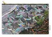 7. Ice Prismatics And Heather, Slaley Sand Quarry Carry-all Pouch