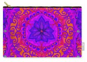 Indian Fabric Pattern Carry-all Pouch