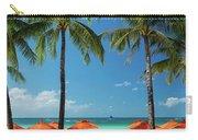 Main Beach Of Tropical Paradise Boracay Island Philippines Carry-all Pouch