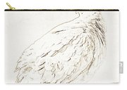 Mourning Dove, Animal Portrait Carry-all Pouch