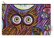 Owl Midnight Carry-all Pouch