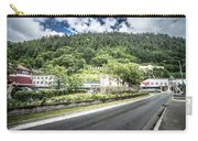 Port Of Juneau Alaska And Street Scenes Carry-all Pouch
