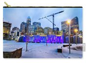 Rare Winter Weather In Charlotte North Carolina Carry-all Pouch