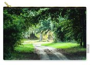 Scenes At Botany Bay Plantation Near Charleston South Carolina Carry-all Pouch