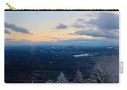 Spencer Butte Winter Summit, Eugene Oregon Feb 2018 Carry-all Pouch