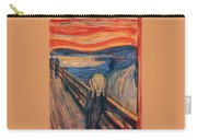 The Scream Ver 1893 Edvard Munch Carry-all Pouch