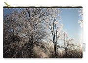 Trees In Ice Series Carry-all Pouch