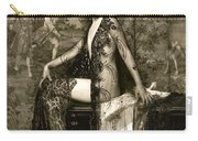 Vintage Nude Postcard Image Carry-all Pouch