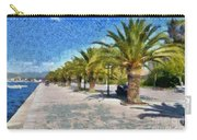 Walkway In Nafplio Town Carry-all Pouch