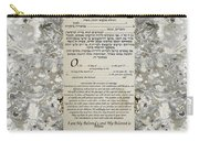 Interfaith Or Reformed Ketubah To Fill Carry-all Pouch