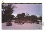 Snowy Desert Landscape Carry-all Pouch