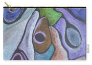 #758 Abstract Drawing Carry-all Pouch