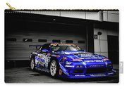 7763 Nissan Tuning Race Cars Blue Cars Selective Coloring Carry-all Pouch