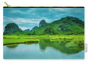 Karst Rural Scenery In Spring Carry-all Pouch