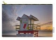 7898- Miami Beach Sunrise Carry-all Pouch