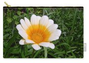 Australia - White Yellow Daisy Flower Carry-all Pouch