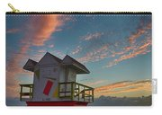 7944- Miami Beach Sunrise Carry-all Pouch