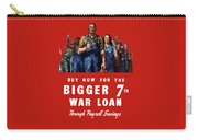7th War Loan - Ww2 Carry-all Pouch