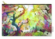 8 Abstract Japanese Maple Tree Carry-all Pouch