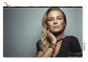 Beautiful Woman Portrait Carry-all Pouch