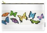 8 Butterflies Carry-all Pouch