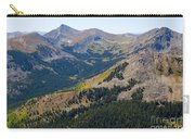 Autumn Tundra Turning To Gold  On Mount Yale Colorado Carry-all Pouch