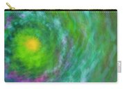 Impression Series - Floral Galaxies Carry-all Pouch by Ranjay Mitra