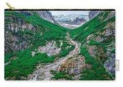 Inside Passage Mountain Views Around Ketchikan Alaska Carry-all Pouch