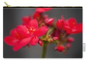 Jatropha Blossoms Painted  Carry-all Pouch