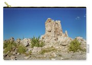 Natural Rock Formation At Mono Lake, Eastern Sierra, California, Carry-all Pouch