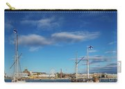 Old Sailing Boats In Helsinki City Harbor Port Finland Carry-all Pouch