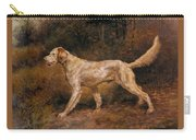 Osthaus Edmund Henry Commissioner A Champion English Setter Edmund Henry Osthaus Carry-all Pouch