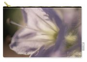 Pastel Purple Flowers Carry-all Pouch