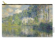 Poplars, On The Epte Carry-all Pouch