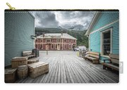 Port Of Skagway Alaska Near White Pass British Columbia Canada Carry-all Pouch